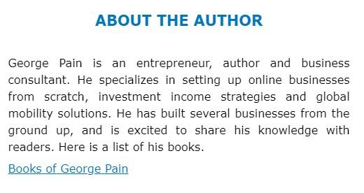 جورج پین، نویسنده کتاب سئو برای وبلاگ نویسان